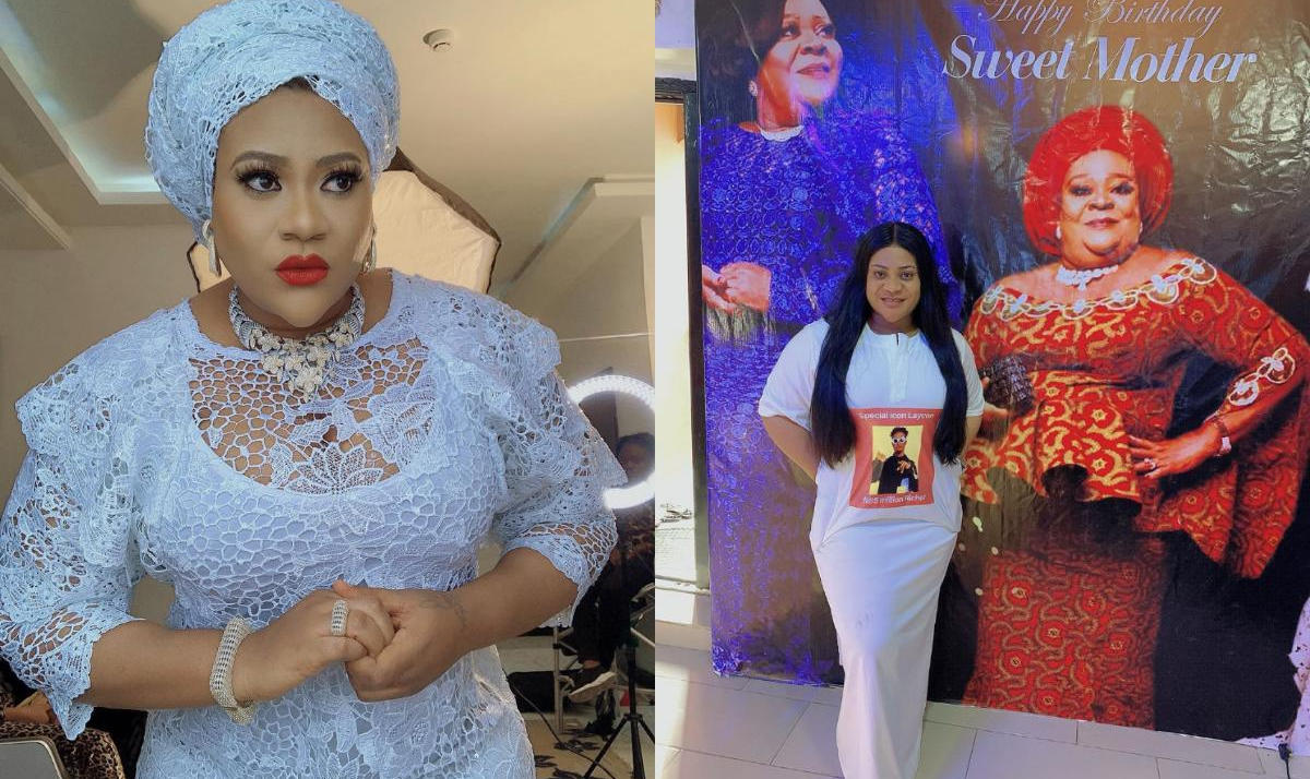 Nkechi Blessing Mother Birthday - Amebo Book