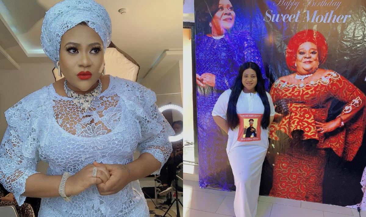Nkechi Blessing Mother Birthday - Amebo Book