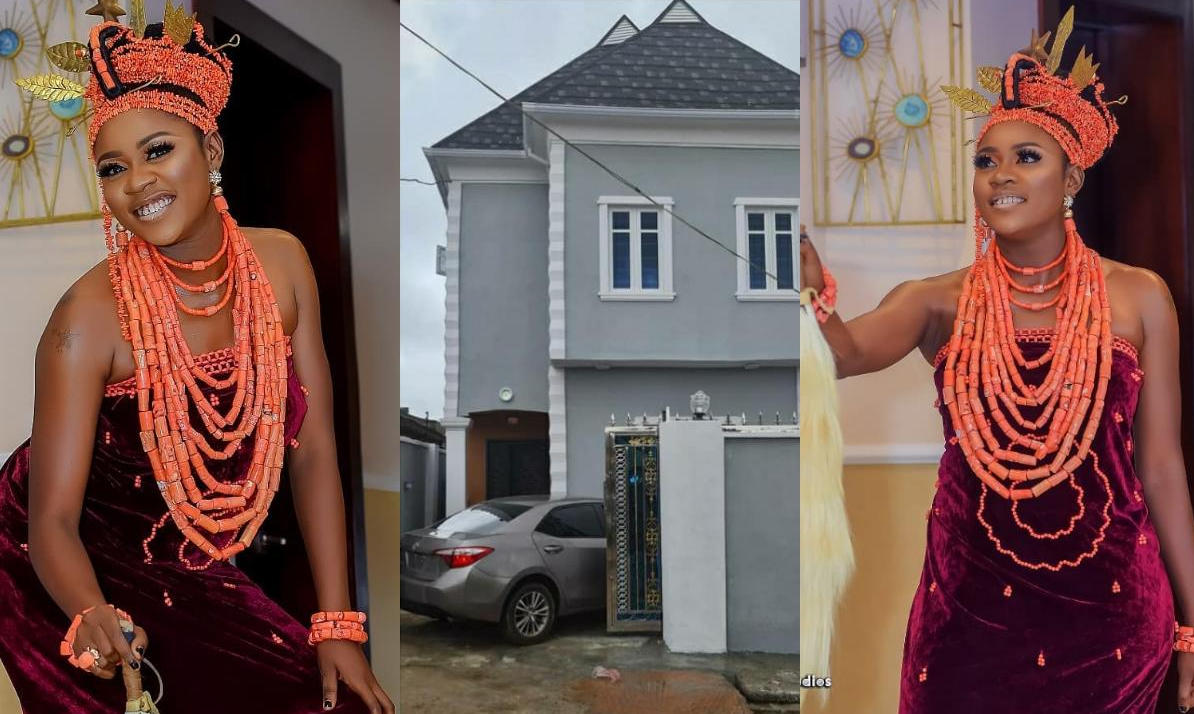 Olayinka Solomon New House And Car - Amebo Book