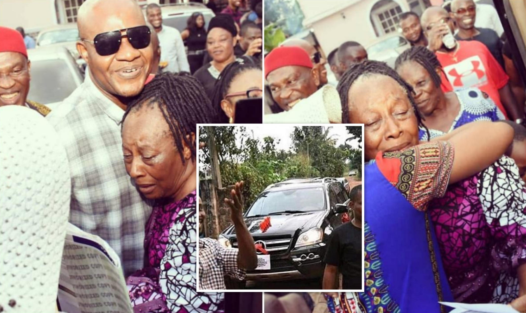 Patience Ozokwo Benz SUV 62nd Birthday - Amebo Book