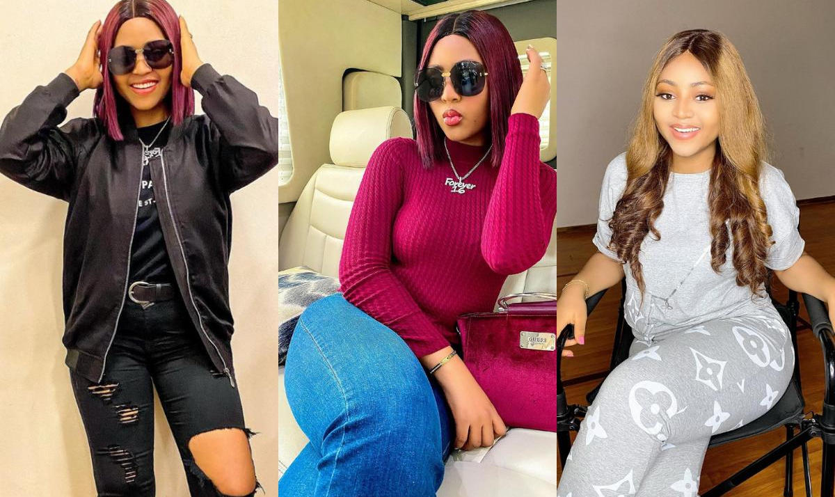 Regina Daniels Spit On Me I Am Your Tufiakwa Fan - Amebo Book