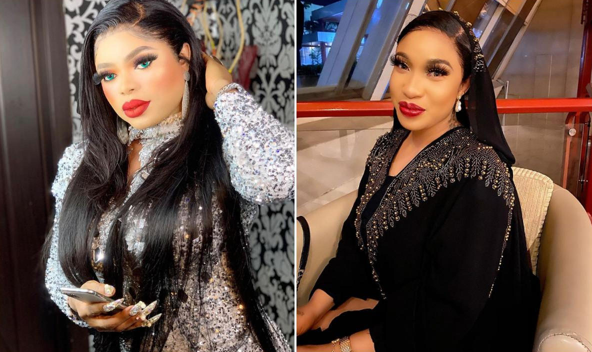 Tonto Dikeh Handing Over Marriage List To Bobrisky Family - Amebo Book