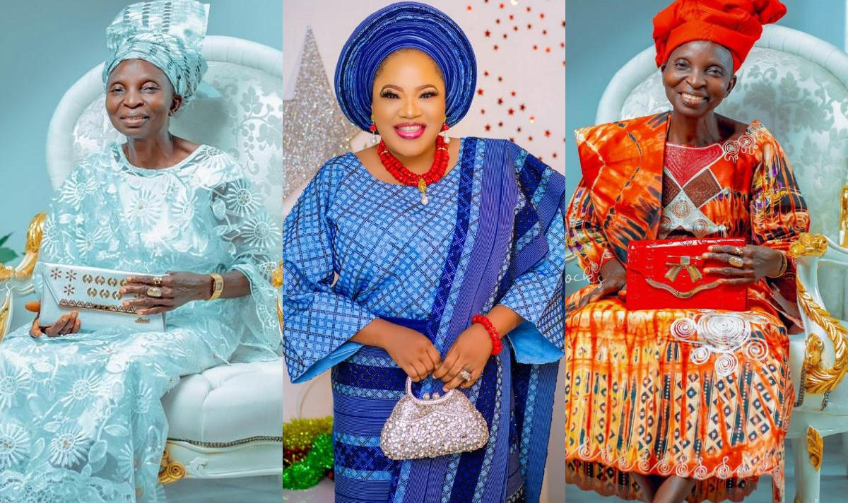 Toyin Abraham Mother-In-Law Fine Girl My Bestie - Amebo Book