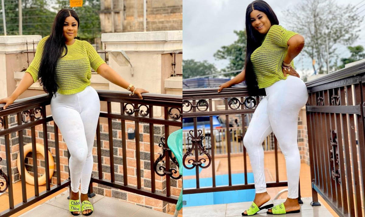 Uju Okoli NYSC Top Ripped Jeans - Amebo Book