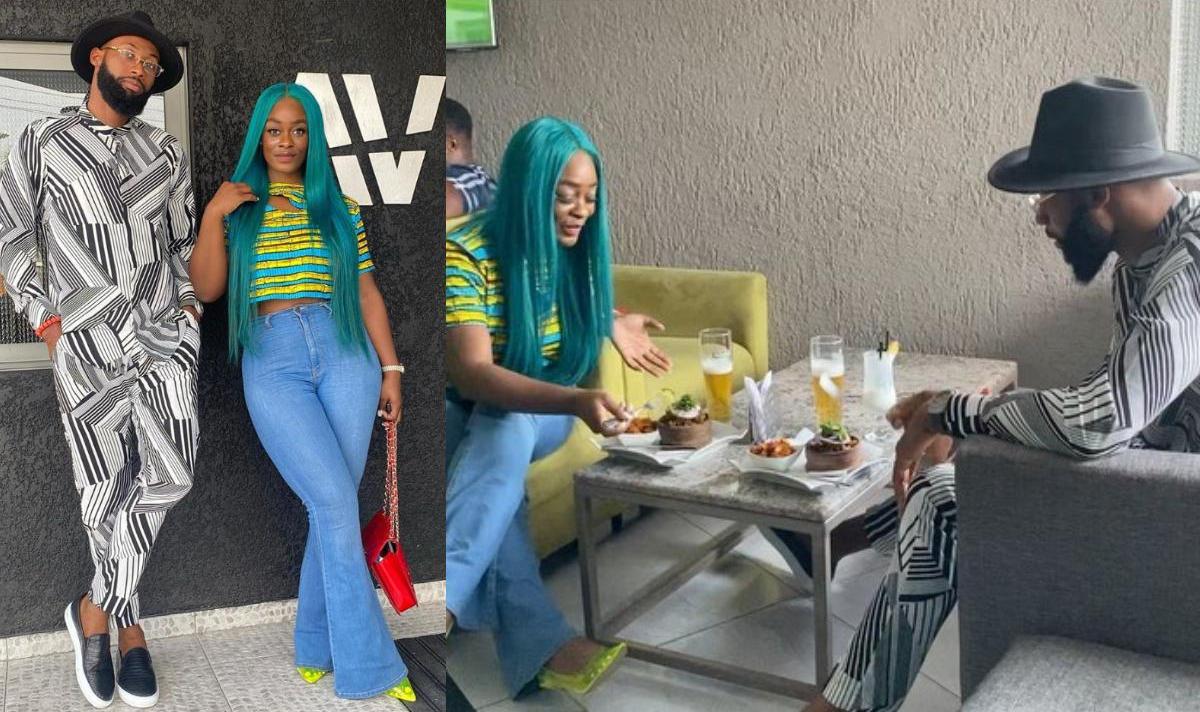 Uriel Oputa And Tochukwu Okechukwu Nkwobi Food Hangout - Amebo Book