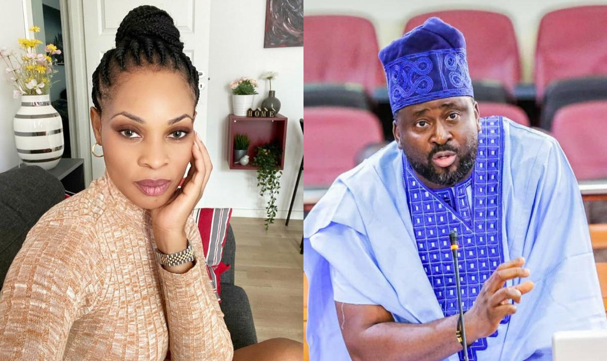 Desmond Elliot Regulate Social Media Georgina Onuoha Reaction