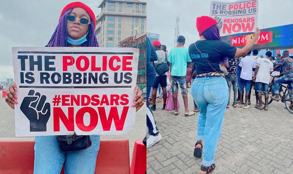 End Brutality Not Change Name Victoria Kolawole
