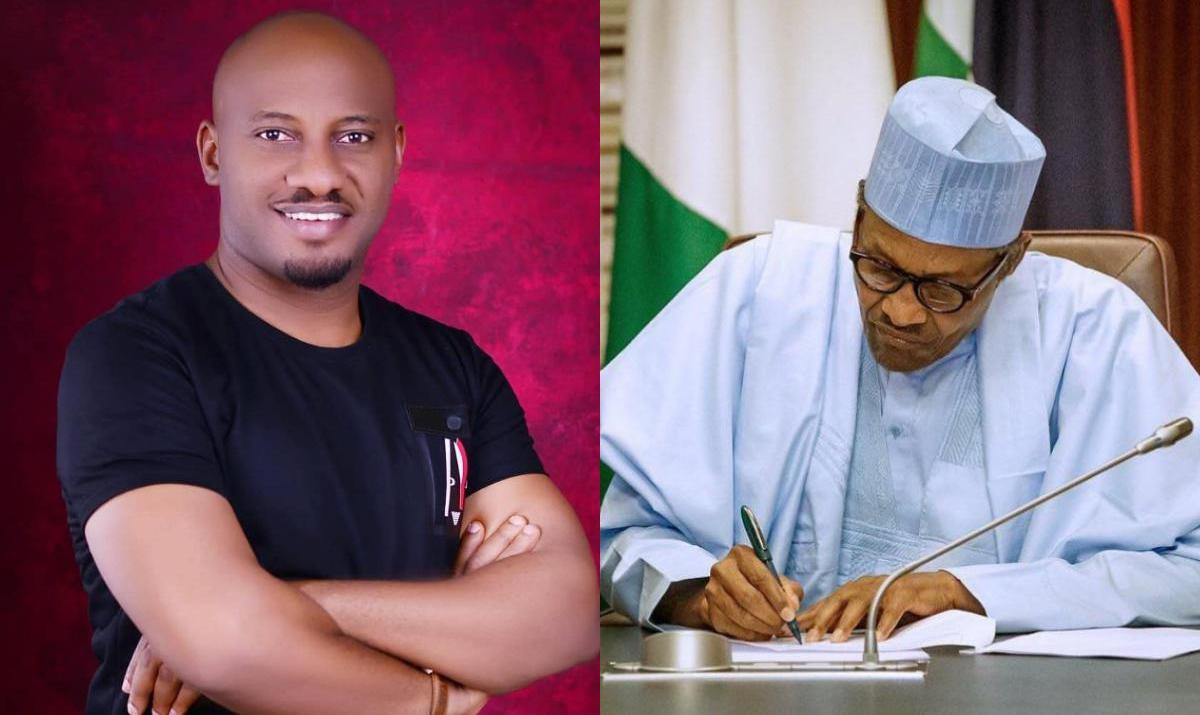 President Buhari's Resignation Yul Edochie - Amebo Book
