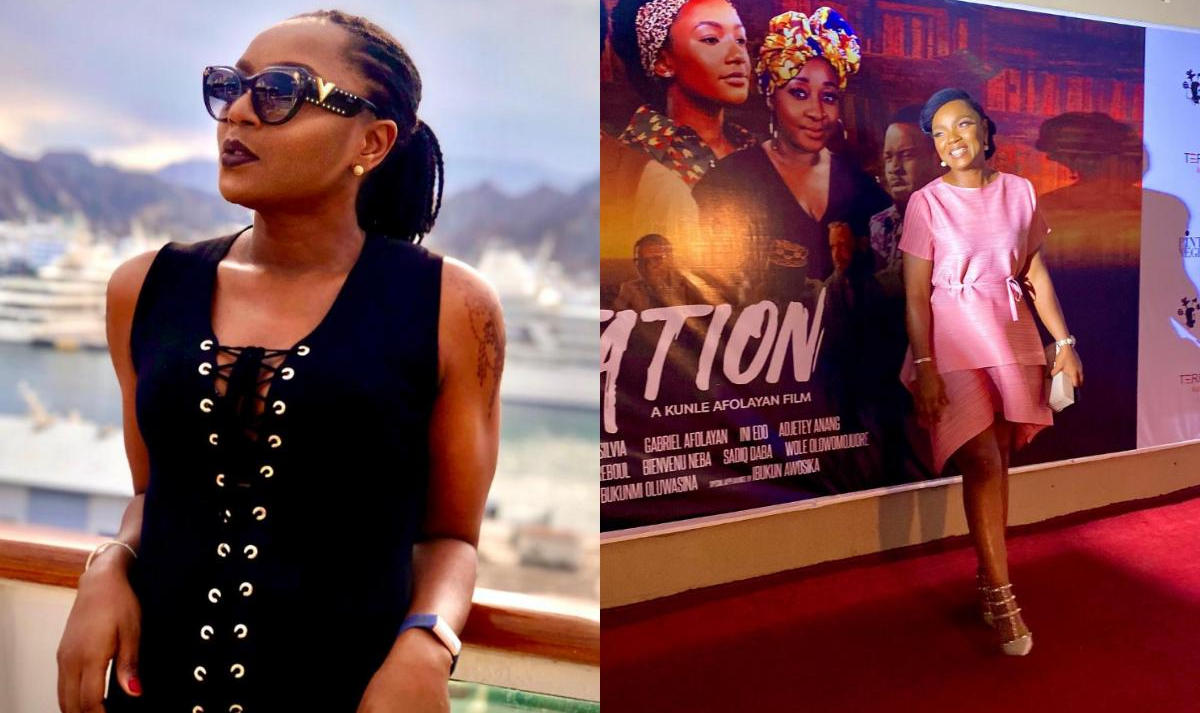 Citation The Movie Chioma Akpotha Reacts - Amebo Book
