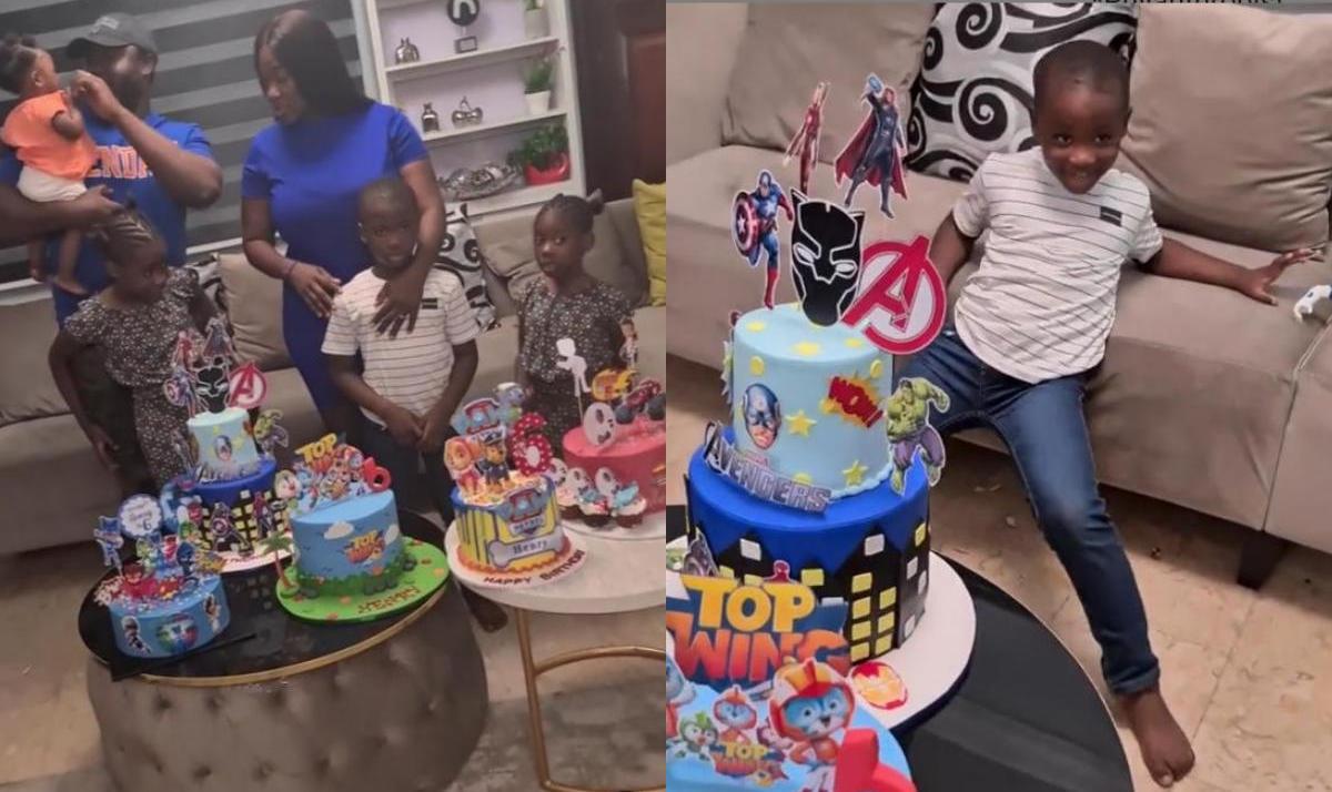 Mercy Johnson Son Henry Okojie 6th Birthday - Amebo Book