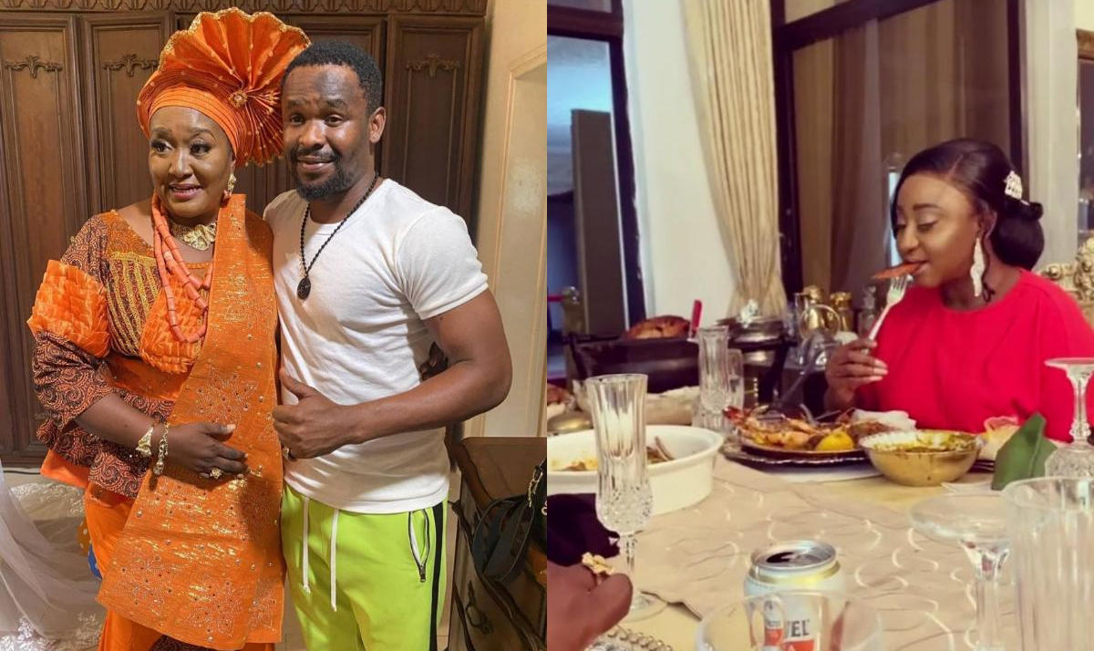Esama Of Benin Hosts Zubby Michael Ini Edo Nollywood