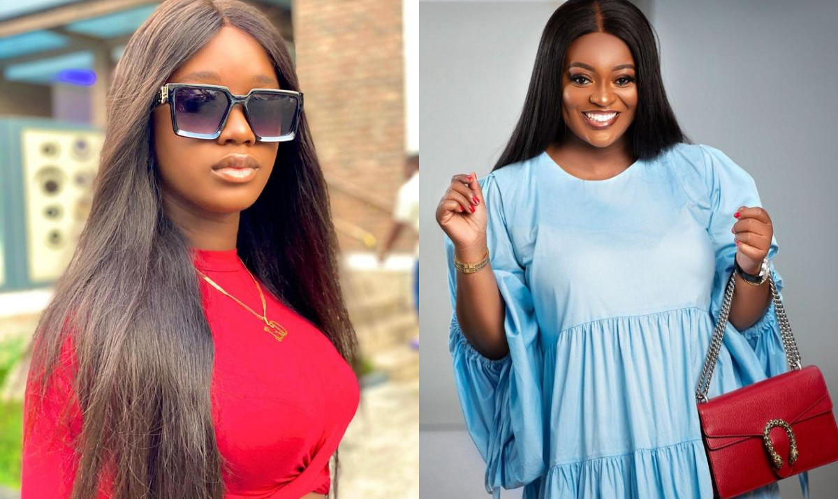 Luchy Donalds Love Jackie Appiah - Amebo Book