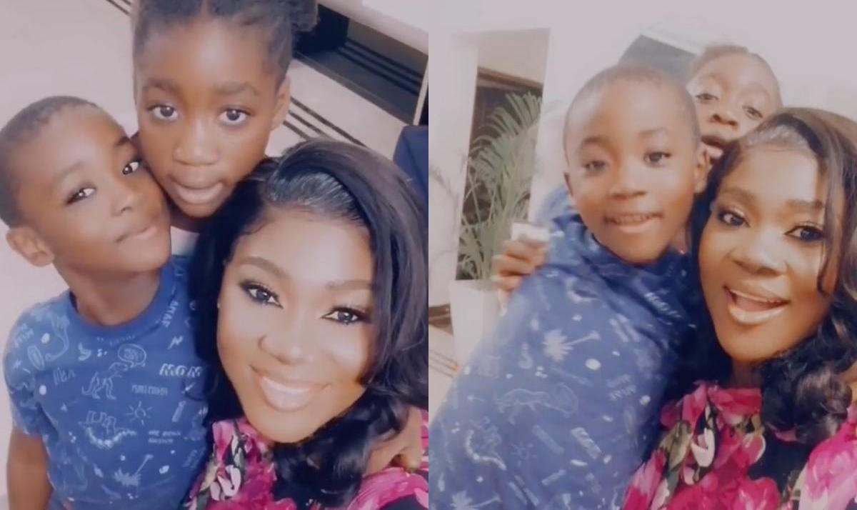 Mercy Johnson Son Henry What's Popping - Amebo Book