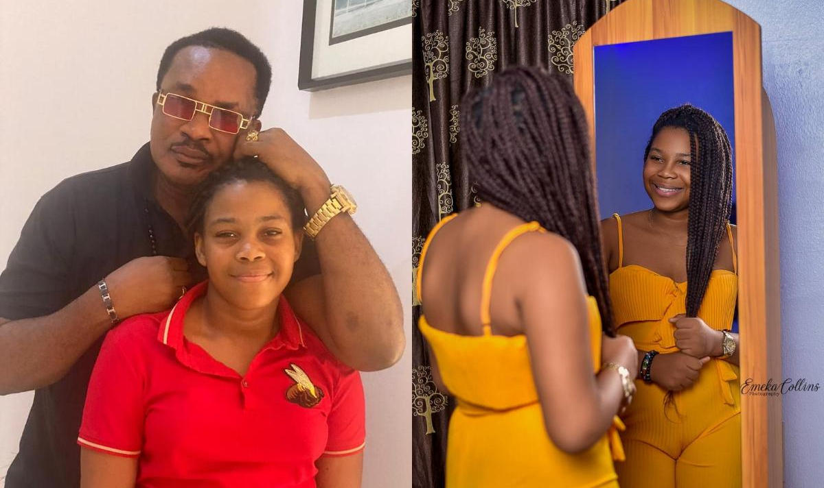 Jerry Amilo Daughter Grace 11th Birthday - Amebo Book