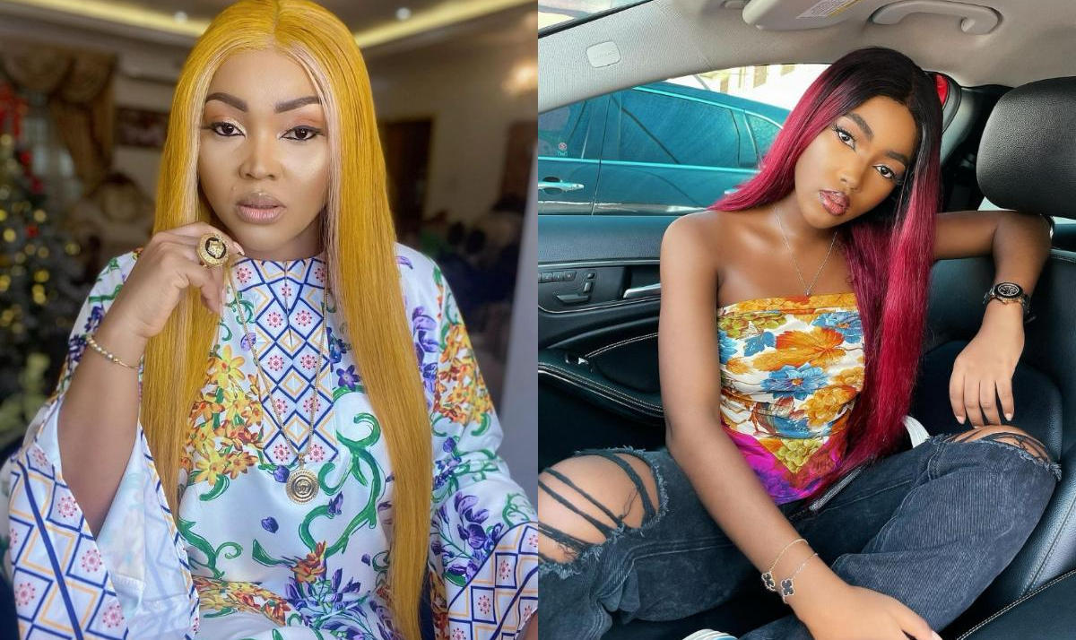 Mercy Aigbe Daughter Michelle Evidence Her Belle Good