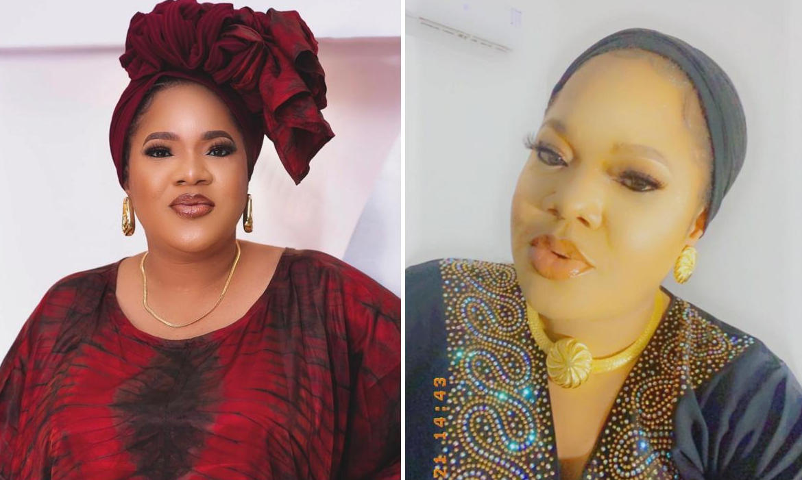 Toyin Abraham Child Beggar Kiss In Traffic