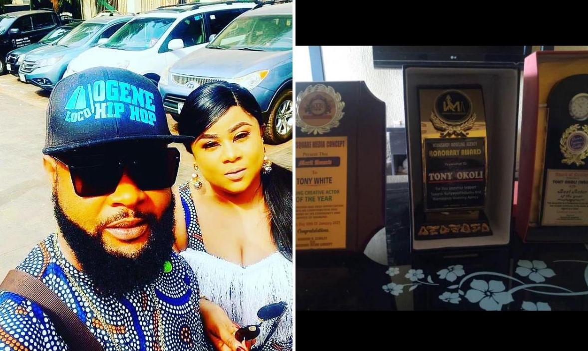 Uju Okoli Brother Tony White 3 Awards In A Month