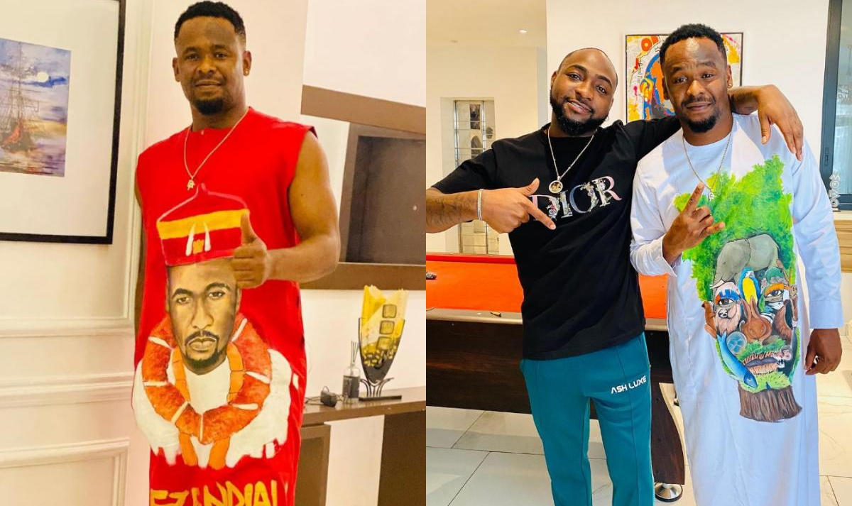 Zubby Michael And Davido Hang Out - Amebo Book