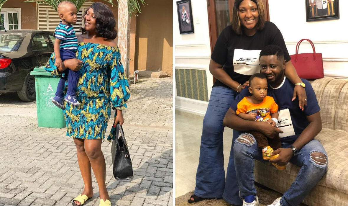 Esther Audu Son Growing Into A Very Fine Young Man