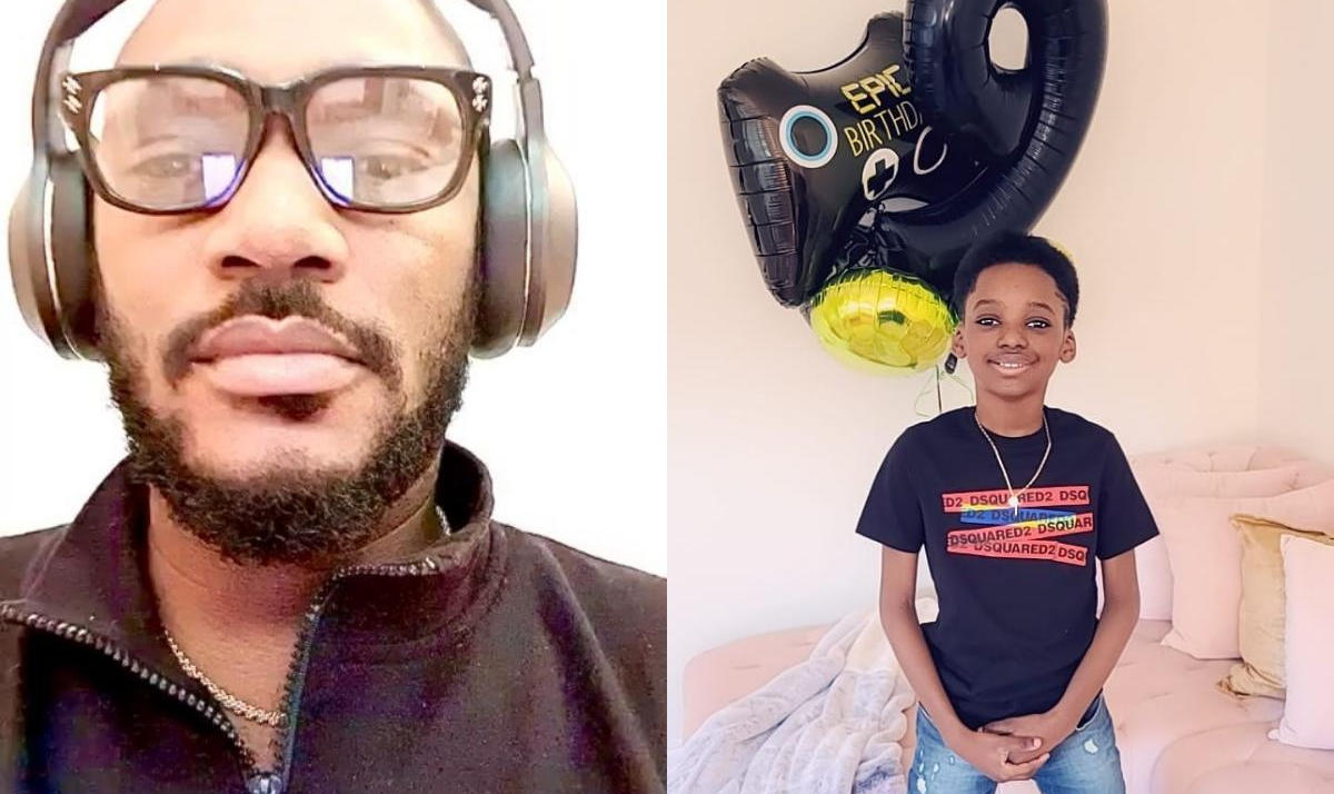 Tuface Son Innocent Idibia Jnr. 9th Birthday - Amebo Book