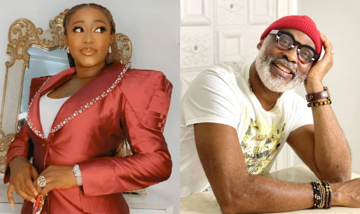 Shanty Town On Set Photo Ini Edo And RMD - Amebo Book