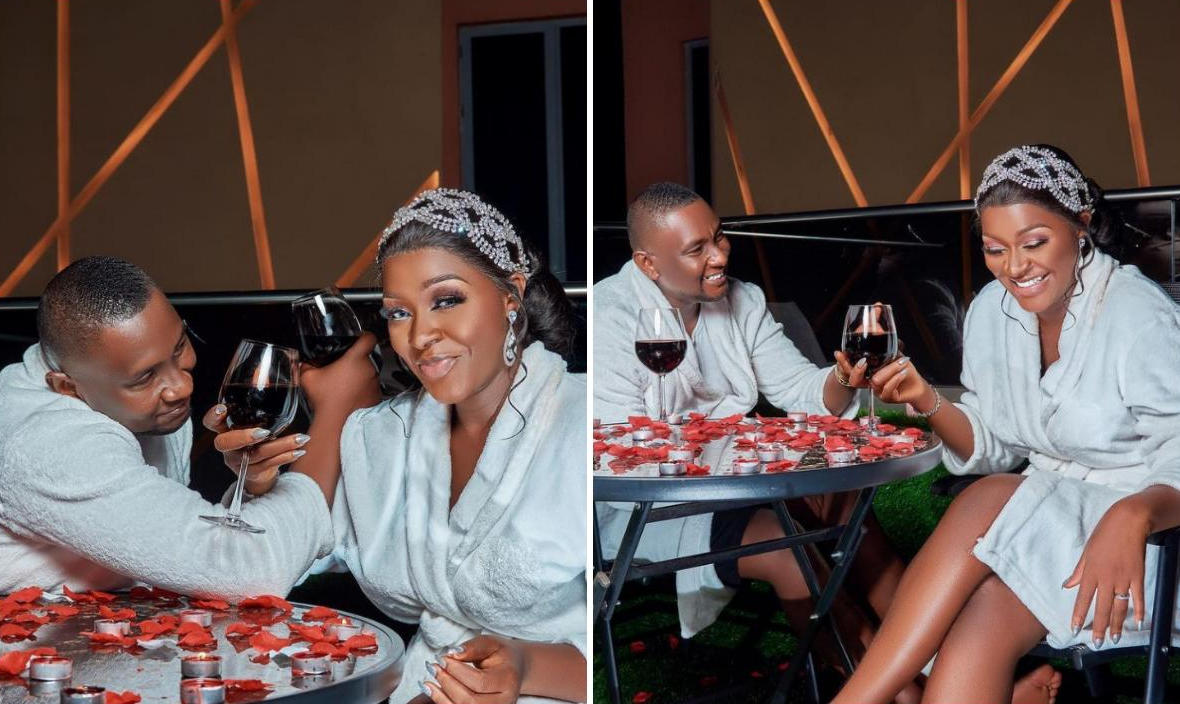 Chacha Eke Faani And Austin Faani Romantic Date