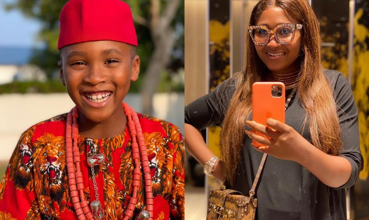 Mary Remmy Njoku Son 8th Birthday - Amebo Book