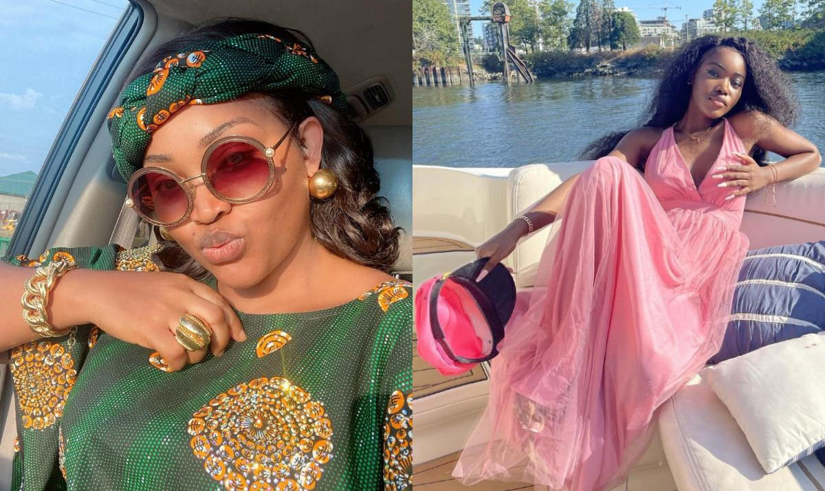 Mercy Aigbe Daughter Michelle Chopping Her Money