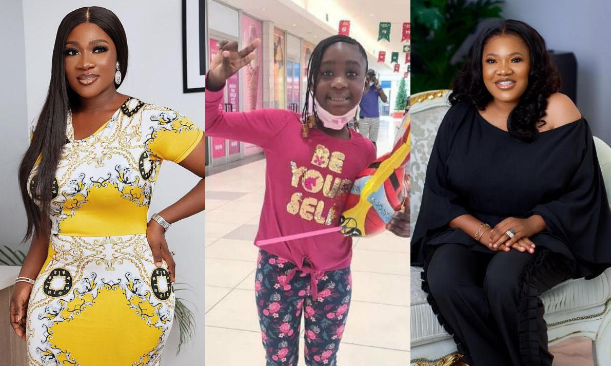 Mercy Johnson Daughter Purity The Ghost And The Tout Too