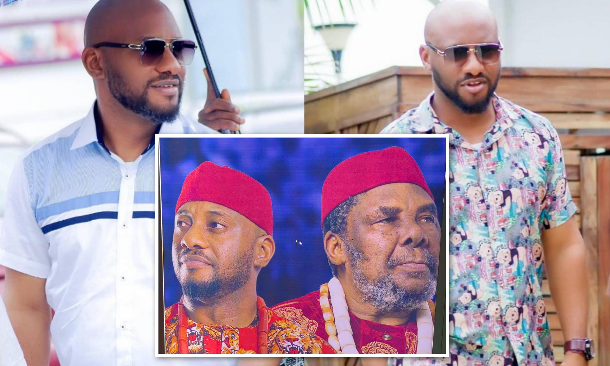 Yul Edochie Bought First Car At 19 - Amebo Book