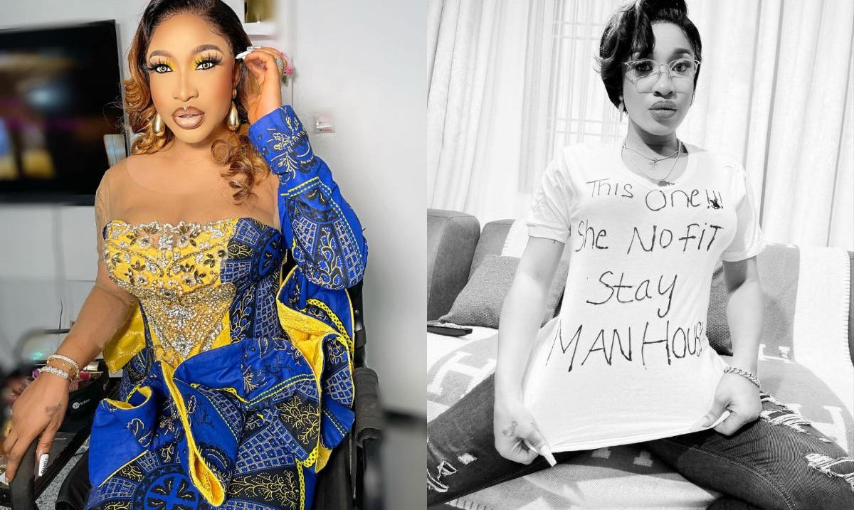 This One She No Fit Stay Man House Tonto Dikeh